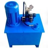 manutenção de unidade hidráulica 24v