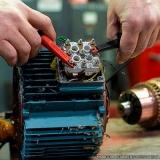 reforma de motor elétrico pequeno Valinhos