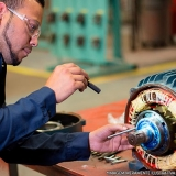 reforma de motor elétrico trifásico